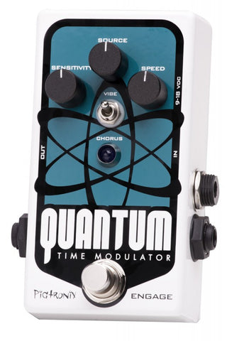 Pigtronix Quantum Time Modulator Multi Dimension Chorus Horror Film Vibrato DynaFlanger