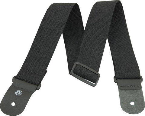 50MM COTTON STRAP BLK - L.A. Music - Canada's Favourite Music Store!