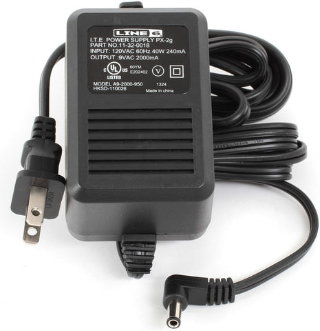 Line 6 PX-2g US AC Power Adapter