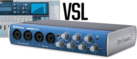 PreSonus Audiobox 44VSL USB 2.0 Recording System
