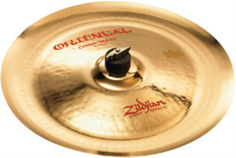 "Zildjian 16"" Oriental China ""Trash"" Floor Model Clearance"
