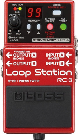 Boss RC 3 Loop Station - L.A. Music - Canada's Favourite Music Store!
