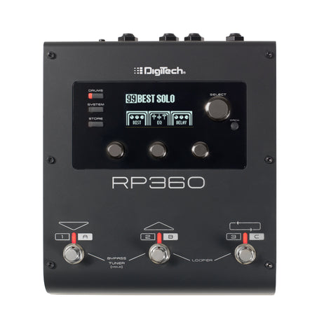 Digitech RP360 Guitar Multi-FX Processor With USB Streaming - L.A. Music - Canada's Favourite Music Store!