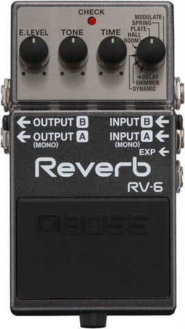 Roland Boss RV 6 Digital Reverb