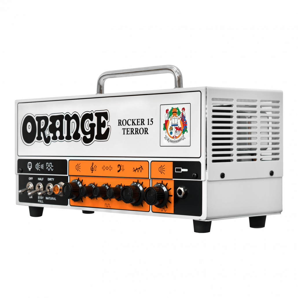 orange rocker 15 terror 15 watt tube guitar amp head l a music canada 39 s favourite music store. Black Bedroom Furniture Sets. Home Design Ideas