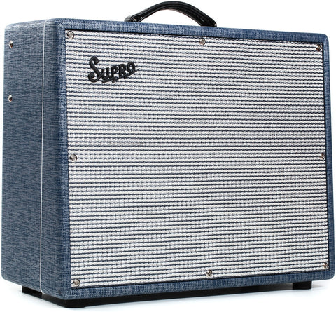 "Supro S6420+ Thunderbolt Plus 35/45/60-watt 1 x 15"" Tube Combo"