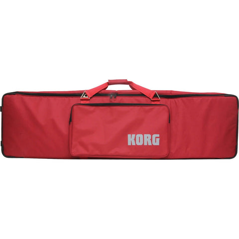 Korg Red Rolling Soft Case for Kross-88 Music Workstation SC-KROSS-88 - L.A. Music - Canada's Favourite Music Store!