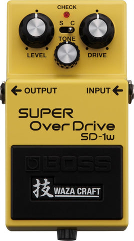 Boss SD-1W Waza Craft Special Edition SUPER OverDrive Pedal - L.A. Music - Canada's Favourite Music Store!