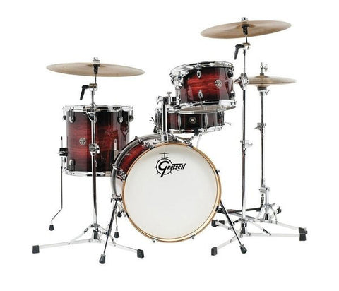 Gretsch Drums Catalina Club 4 Piece Drum Shell Pack, Gloss Antique Burst CT1-J484-GAB
