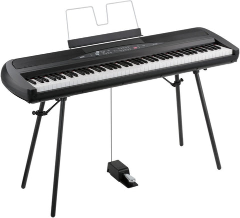Korg Lightweight 88-Key NH Action Black SP280-BK - L.A. Music - Canada's Favourite Music Store!