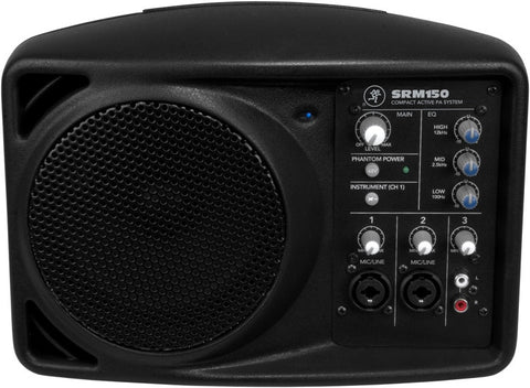 "Mackie SRM150 5.25"" Compact Active PA System"