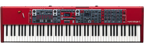 NORD Stage 3 88-Key Hammer Action Stage Keyboard STAGE388-B