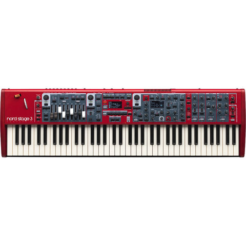 NORD Compact 73-Note Semi-Weighted Stage Keyboard STAGE3COMPACT-B