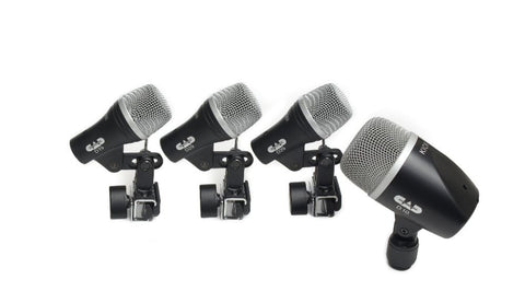CAD STAGE4 4-Piece Drum Microphone Pack - Two D29, One D19, One D10