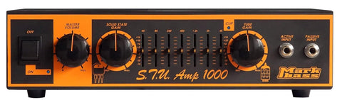 Mark Bass Stu Amp 1000 Stu Hamm Signature 1,000W Bass Amp Head STU-AMP1000