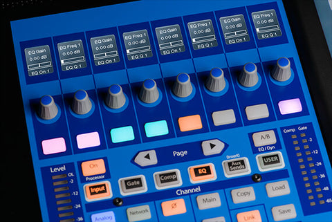 Presonus 32 Series III Digital Mixer - 40-Input with Motorized Faders STUDIOLIVE-32-MK3
