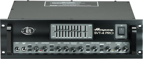 Ampeg SVT4PRO 1200W RMS Tube Preamp Stereo Power Amp
