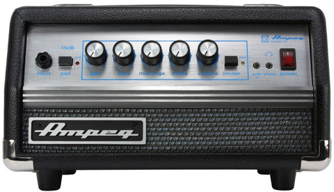 Ampeg SVT MICRO 200W, solid state, SVT classic style head Classic Series - L.A. Music - Canada's Favourite Music Store!