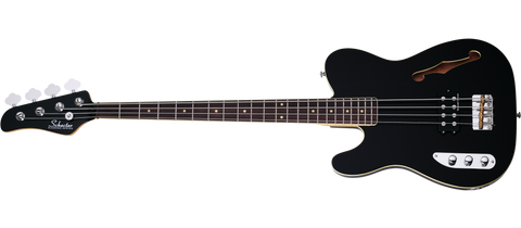 Schecter BARON H 4 LH BLK LH Gloss Black 4 String Bass with Seymour Duncan SMB 4D