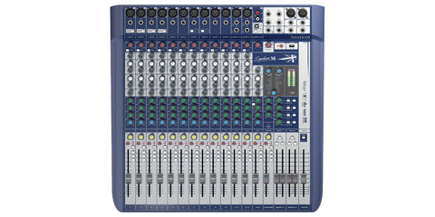 SOUNDCRAFT SIGNATURE 16 MIXER W/ USB