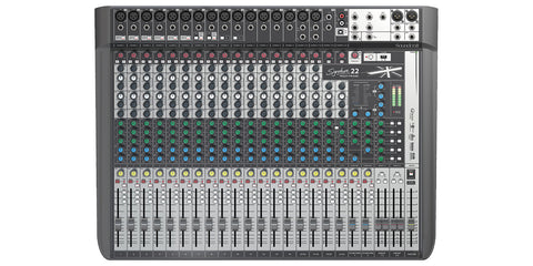 SOUNDCRAFT SIGNATURE 22 MIXER W/ USB