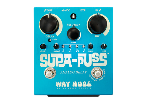 Dunlop Way Huge Electronics Supa Puss Delay Pedal - L.A. Music - Canada's Favourite Music Store!