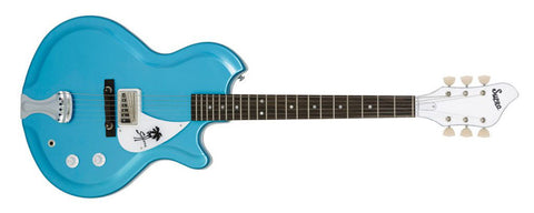 Supro Sahara 1570WB Wedgewood Blue Metallic finish