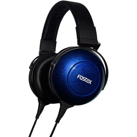 Fostex Premium Reference Headphones (Limited Anniversary Edition Sapphire Blue)