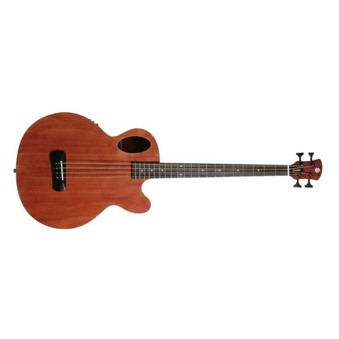 Spector Timbre Acoustic Bass - Walnut Stain with Gig Bag & Fishman Electronics