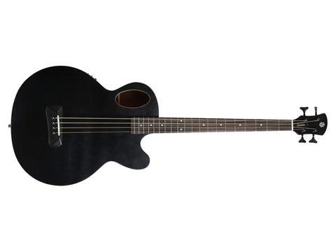 Spector Timbre Acoustic Bass - Black with Gig Bag and Fishman Electronics
