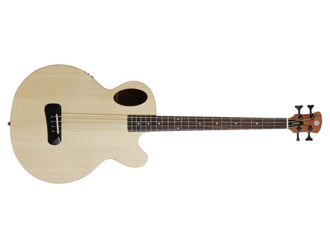 Spector Timbre Acoustic Bass - Natural with Gig Bag & Fishman Electronics