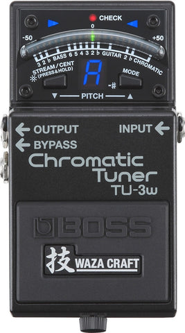 Boss TU-3W WAZA Craft Chromatic Tuner - L.A. Music - Canada's Favourite Music Store!