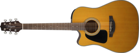 Takamine GD30CELH-NAT Acoustic-Electric Guitar Left-Handed Dreadnought Cutaway, Natural