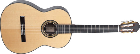 Takamine Pro Series H8SS Hirade Acoustic Classical Guitar, Natural with Case