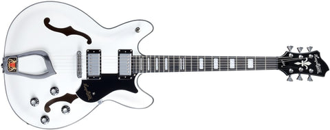 Hagstrom 6 String Viking Model Electric Guitar White Gloss VIK-WHT