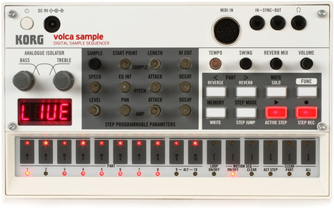 Korg Volca Sample - Digital Sample Sequencer VOLCA-SAMPLE