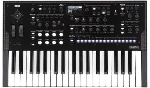 Korg 37 key Wave Sequencing Synthesizer WAVESTATE