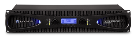 Crown XLS2502 XLS4 2500 Watt Power Amplifier x/xover + Limiter - L.A. Music - Canada's Favourite Music Store!