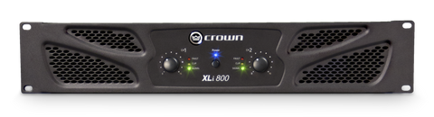 Crown XLi 800 300 Watts Power Amplifier - L.A. Music - Canada's Favourite Music Store!