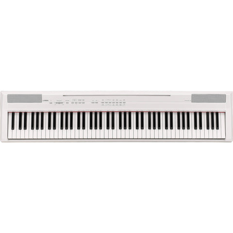 Yamaha P-105 Digital Piano White 88 Fully Weighted keys with GHS action.