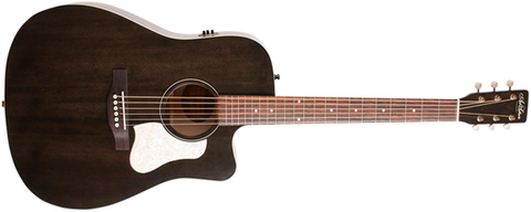 Art and Lutherie Americana Cutaway Dreadnought Faded Black CW QIT 042463 - L.A. Music - Canada's Favourite Music Store!