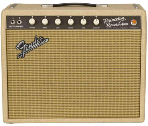 Fender Limited Edition '65 Princeton Reverb Tan/Wheat with Celestion G10 Speakers ONLY 1 Available