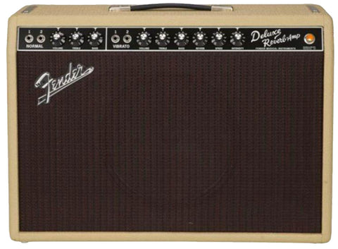Fender Limited Edition '65 Deluxe Reverb Tan/Oxblood Weber Alnico Speakers ONLY 1 AVAILABLE!