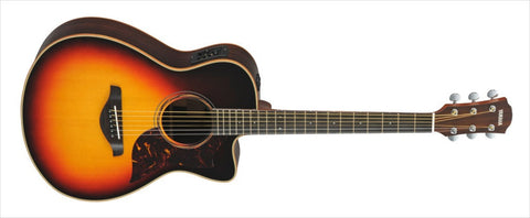 Yamaha A Series AC3RVS - All Solid Spruce/Mahogany Concert with Cutaway In Vintage Sunburst