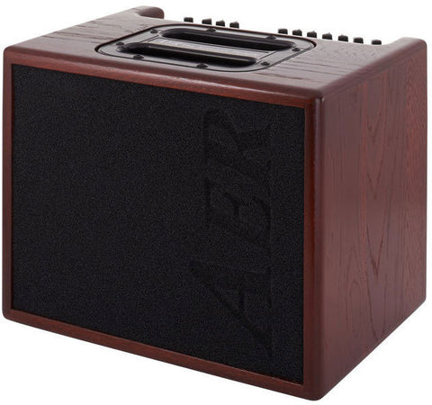 AER COMPACT-60/3-OMH Mahogany Stained Oak Acoustic Amp - L.A. Music - Canada's Favourite Music Store!