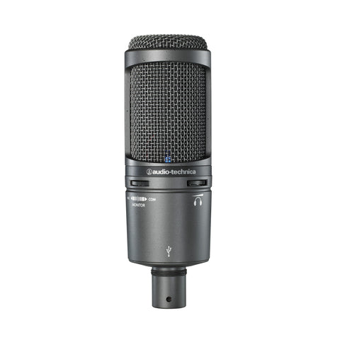 Audio Technica AT2020 USB Plus Condenser Microphone Windows/Mac Studio Mic