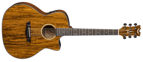 Dean AXS EXOTIC CUTAWAY  Acoustic Electric KOA