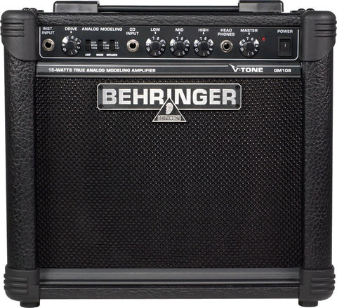 "Behringer GM108 15 Watt Guitar Amp  With 8"" Speaker - L.A. Music - Canada's Favourite Music Store!"