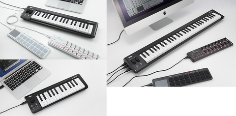 Korg USB Controller With 61 Velocity-Sensitive Mini-Keys Dual USB Hub MICROKEY-61 - L.A. Music - Canada's Favourite Music Store!