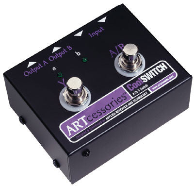 ART Pro Audio CoolSwitch - A/B-Y Selector Footswitch